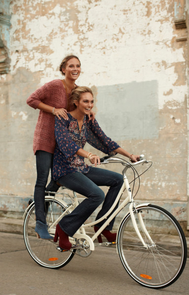 "Have you seen Jeans West's new ""What's your denim moment"" campaign?  Wittner shoes are featured and the shot looks fab! x"