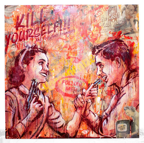 "criminalwisdom:  ""Kill Yourself"" by the amazing Senor X."