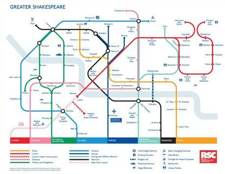 guardian:  Shakespeare on a Tube map - an oldie but a good one. Madrid's equivalent Oxford Street, the shopaholic Puerta del Sol stop, has been snapped up by Samsung in a month-long deal and renamed Sol Galaxy Note. What would you rename stations on the London Underground? Liking newenergyspace's suggestions:  Toshiba-kerstreetMars-enalFujiCam-den RoadSloans-for-you-SquarePremium Bond StreetLadbroke's GroveBarclays-water