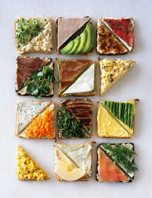 Such awesome ideas when sandwiches become boring!