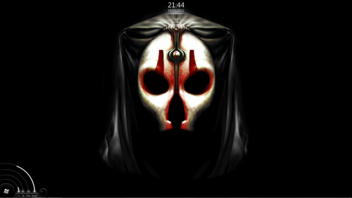it appears that a sith lord has taken up residence on my desktop!