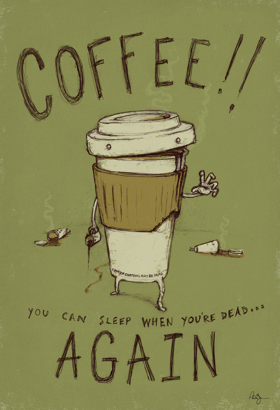 Phil Jones. Zombie Coffee.