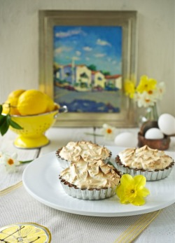 Lemon Meringue Tartlets.
