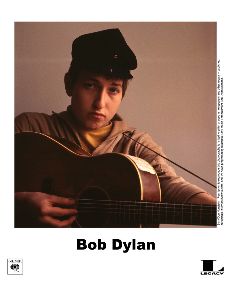 Dylan photo session with Don Hunstein in 1961 for his first LP cover released March 9, 1962 On the fiftieth anniversary of Bob Dylan's first album release—and in honor of a new exhibition put together by the Grammy Museum and Cité de la Musique, featuring the work of both Don Hunstein and Daniel Kramer—photographer Daniel Kramer talks to LightBox about working with Dylan at an early and pivotal point in the troubadour's musical career. See more here.