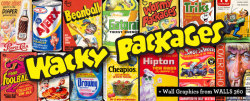 WALLS 360 and Topps Partner to Produce New Wacky Packages Wall Graphics