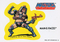 Masters of the universe - Man-E-Faces  #15  1984 by Jimmy Tyler on Flickr.