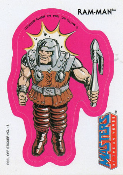 Masters of the universe - Ram-Man  #18  1984 by Jimmy Tyler on Flickr.
