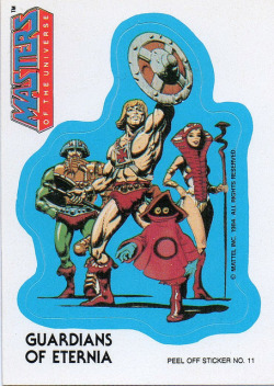 Masters of the universe - Guardians of Eternia sticker #11 1984 by Jimmy Tyler on Flickr.