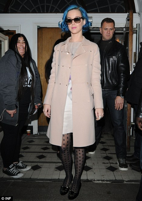 Katy Perry does spotty tights, get her style here! http://www.tightsplease.co.uk/tights/pattern/spotty-tights/