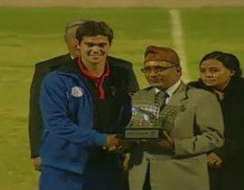 blogvintagefutbol:  Congrats to Phil Younghusband for winning the Golden Boot Award of the AFC Challenge Cup 2012 as well as the Azkal's Third place finish. #vintagemoment #vintagefutbol