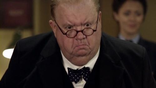Cats That Look Like Doctor Who Characters - A cat that ... Ian Mcneice In Harry Potter