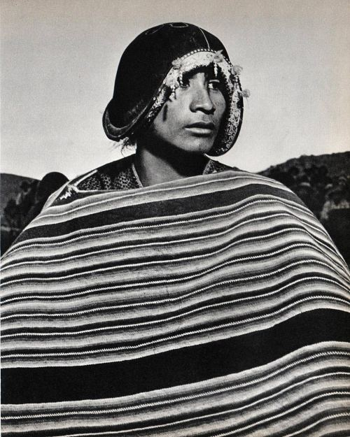 Man from Tarabuco - Bolivia 1960