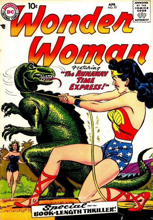 monsterman:  Wonder Woman (Vol.1 No.97, April 1958)