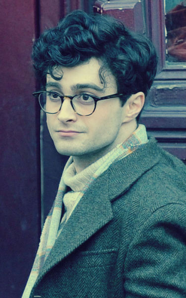 alexanderly:  Daniel Radcliffe as Allen Ginsberg on the set of the upcoming film, Kill Your Darlings. BE STILL, MY HEART