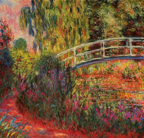 weepling:  Claude Monet, Waterlily Pond