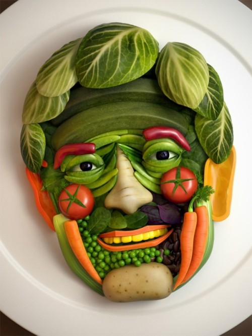 yummy 3d Art by Alex J Jefferies