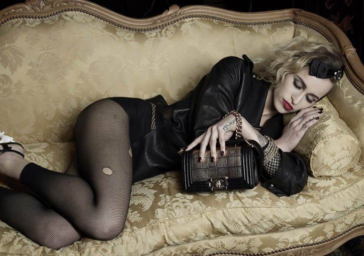 Chanel Boy Handbag ft. Alice Dellal