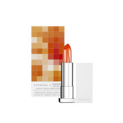 Color of the Year Crème Lipstick  Get a seductive, stylish smile with the vibrant color packed into this lip formula. Proven to smooth, protect, and hydrate, this créme leaves lips luscious to the touch without compromising brilliance. Glistening pearls beautify lips with a lightweight texture you'll love to wear day into night. Inspired by the Color of the Year, the exclusive shade Tangerine Tango Cream (PANTONE #17-1463), comes in a sleek, white component with unique, 3D embossing.