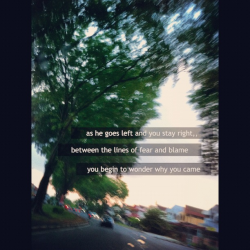 Lyric : How to save a life / The Fray Photo by Luzmacia on instagram