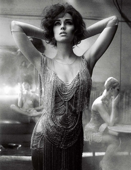 Who knew Katy Perry would make such a perfect flapper? Photographed by Mikael Jansson for Interview Magazine. (Image via Fashiontography)