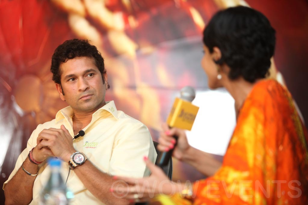 JAY PEE Cement Product Launch in Chandigarh & Ahmedabad by Sachin Tendulkar