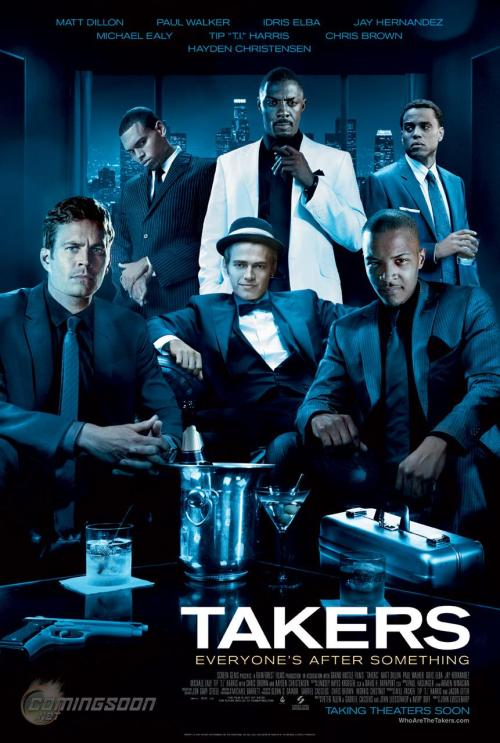 Movie #71 of 2012: TAKERS