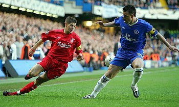 Gerrard and Terry in Action