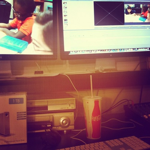 I love editing but it is one of the loneliest jobs in film (Taken with instagram)