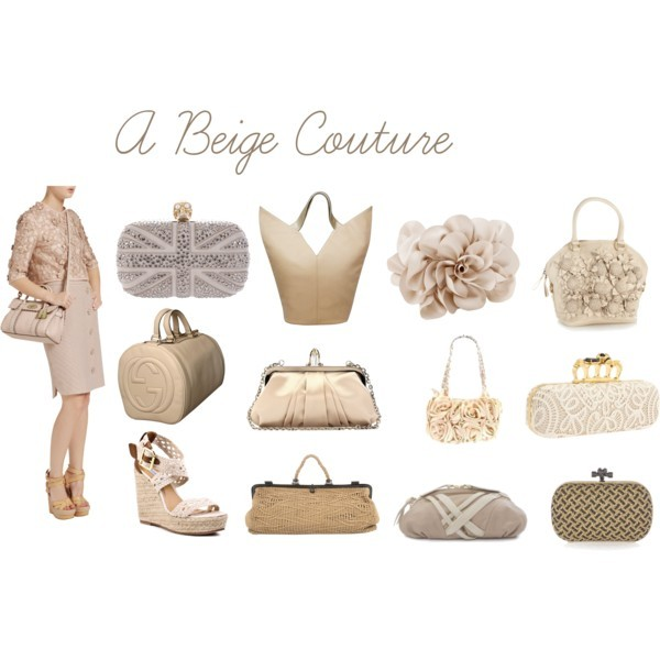It a Beige Couture by thinkeventsplanning featuring gucci shoulder bag