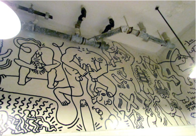 For the Brooklyn Museum's Keith Haring show, (now open), the late artist's foundation has been scanning pages from his journal 1978–1982 and will post a page a day for the duration of the show. The exhibition, on view at the Brooklyn Museum from March 16 through July 8, 2012, is the first large-scale presentation to explore the early works. See also Keith Haring Bathroom Mural @ The Center from the fantastic Social Diarist.