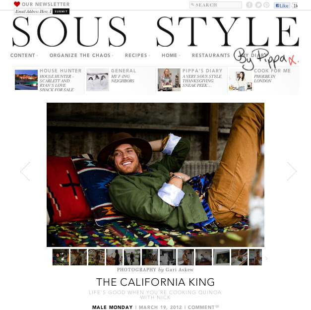 Nick Fouquet for SousStyle.com. Check out the site….it's really dope!…..Big up to Lianna Tarantin, Nick Walker, Nick Fouquet & Nicole Chew.