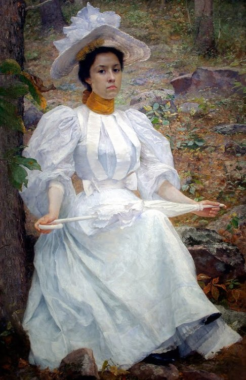 Sophie Hunter Colston by William Robinson Leigh, 1896