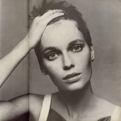 Richard Avedon - Mia Farrow, Vogue, 1966