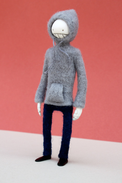 fuckyeahneedlefelting:  Death from Lamezone, created by Partydog and made by Stabwool