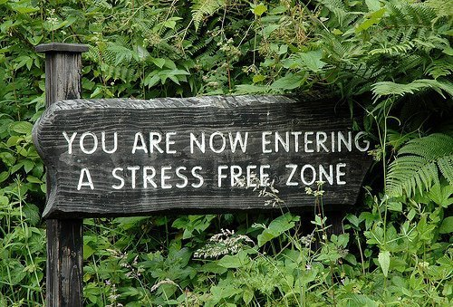 Stress Free Zone, i wish..!