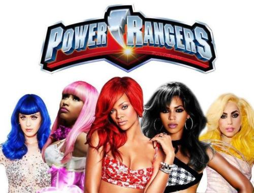 The girl Power Rangerz lol!<3
