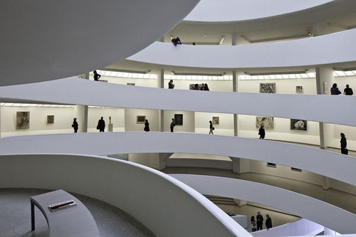 Installation View of The Great Upheaval: Modern Art from the Guggenheim Collection 1910-1918 (by Solomon R. Guggenheim Museum)