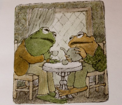 rhamphotheca:  Frog and Toad Teatime