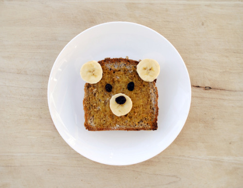 (via Teddy bear toast | Mini-eco)