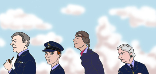 Cabin Pressure: 1941 Because I like the idea of Carolyn being Britain's most senior WAAF, given the unenviable task of whipping her son's ragtag, not to mention tiny, RAF squadron into shape.