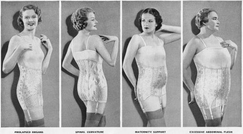 straightlaceddame:  There's a reason that shapewear reigned in the 1940s and 50s.  Every shape can express its ultimate beauty.  Yes, exactly!