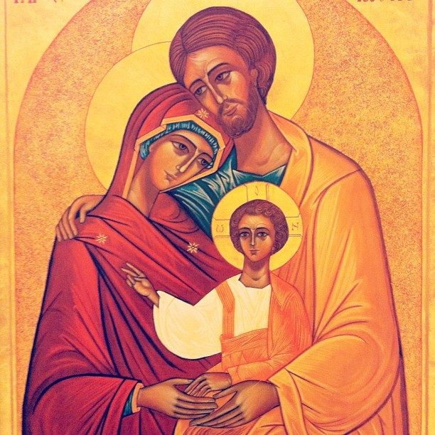 Love this icon of St. Joseph!