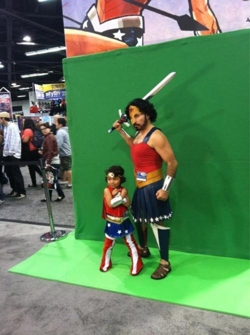 Wonder Woman! Via: http://okupas.blogspot.com.es/