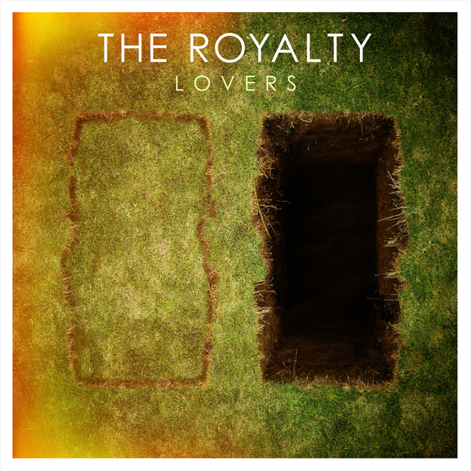 Cover artwork for The Royalty's album Lovers