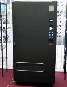 "SCP-261: Pan-dimensional Vending SCP-261 appears to be a large black vending machine with no glass panel and a keypad on the right side. It was found Yokohama, Japan and its origins are unknown. When money is placed into SCP-261 and a three-digit number is entered on the keypad, SCP-261 will vend a random item.he number entered on the keypad has no effect on the item vended, nor has any pattern been detected. Items are always some form of ""snack food"", and typically have bright, attention-grabbing packaging. If SCP-261 is used several times in a short period of time, is used while unpowered, and/or large amounts of money are entered before an item is vended, SCP-261 will start to dispense bizarre items. While still ""food"", their suitability for human consumption is often non-existent. A full log of objects vended can be found here.  The Japanese, man. Here's an example of what a ""bizzare item"" might be from this vending machine:  Money entered: 500 Yen SCP-261 Powered or Unpowered: Unpowered Item description: Unknown- A clear plastic package filled with water, with tiny Manta Ray-like creatures swimming in it. Attached to it was a blue tablet in a plastic wrapper. When the top was opened and the tablet was added, the water instantly froze with a loud pop. After the ice block was pulled out of the package, the ice turned to vapor and left behind the creatures, frozen solid. Each was described as having a slightly different flavor."