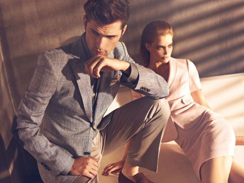 costinm:  Retro Romance | Sean O'Pry and Rianne ten Haken for Sarar S/S 2012