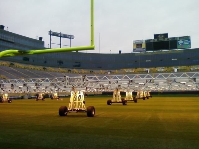 juicyfilms3:  Green Bay Packers field <3