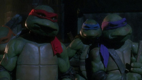 "amboy00:   Michael Bay Gives 'Ninja Turtles' New Alien Origin Terri Schwartz, mtv.com The new ""Teenage Mutant Ninja Tur­tles"" fea­ture film might have just received a shiny new release date, but it also is appar­ent­ly get­ting a brand new back­sto­ry as well. Pro­duc­er Michael Bay revealed at the Nick­elodeon Upfront in New York…  This kid I babysat back in in high school absolutely loved the turtles. Posters, toys, movies, all of it. This would break his 12-year-old heart.  M-U-T-A-N-T"