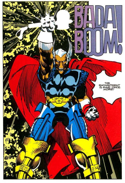 "guttersnipercomics:  comicbookcovers:  From Thor #339, January 1984  See also: ""Hand-Lettering Is So Much Better Than Digital Lettering."""