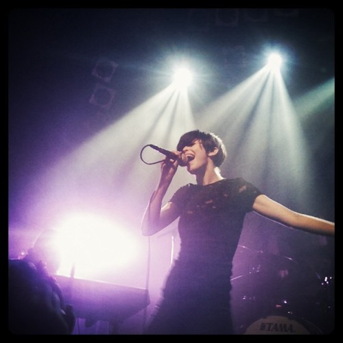 The Jezabels. Epic as hell!! <3 (Wurde mit instagram aufgenommen)